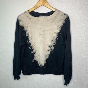 WIldfox DIY Tie-Dye Bleach Sweatshirt size Xs